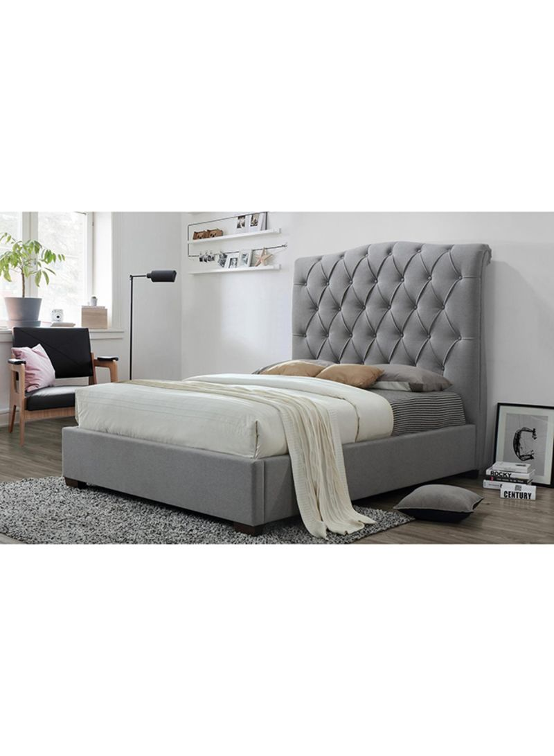 Shop A To Z Furniture Shannon Platform Bed Without Mattress Grey