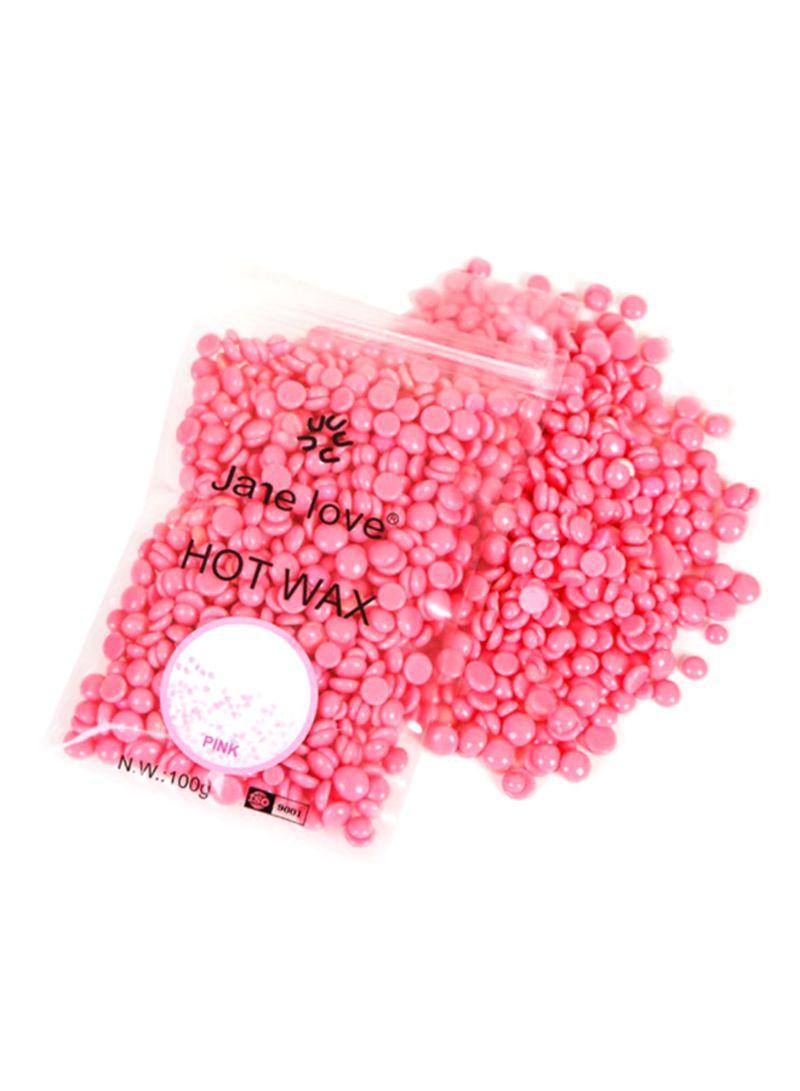 Shop Jane love Pearl Hard Wax Beans Pink 100 g online in Dubai, Abu Dhabi  and all UAE