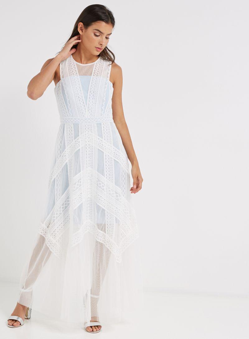 2b1b16e87c7 All Over Lace Maxi Dress - Data Dynamic AG