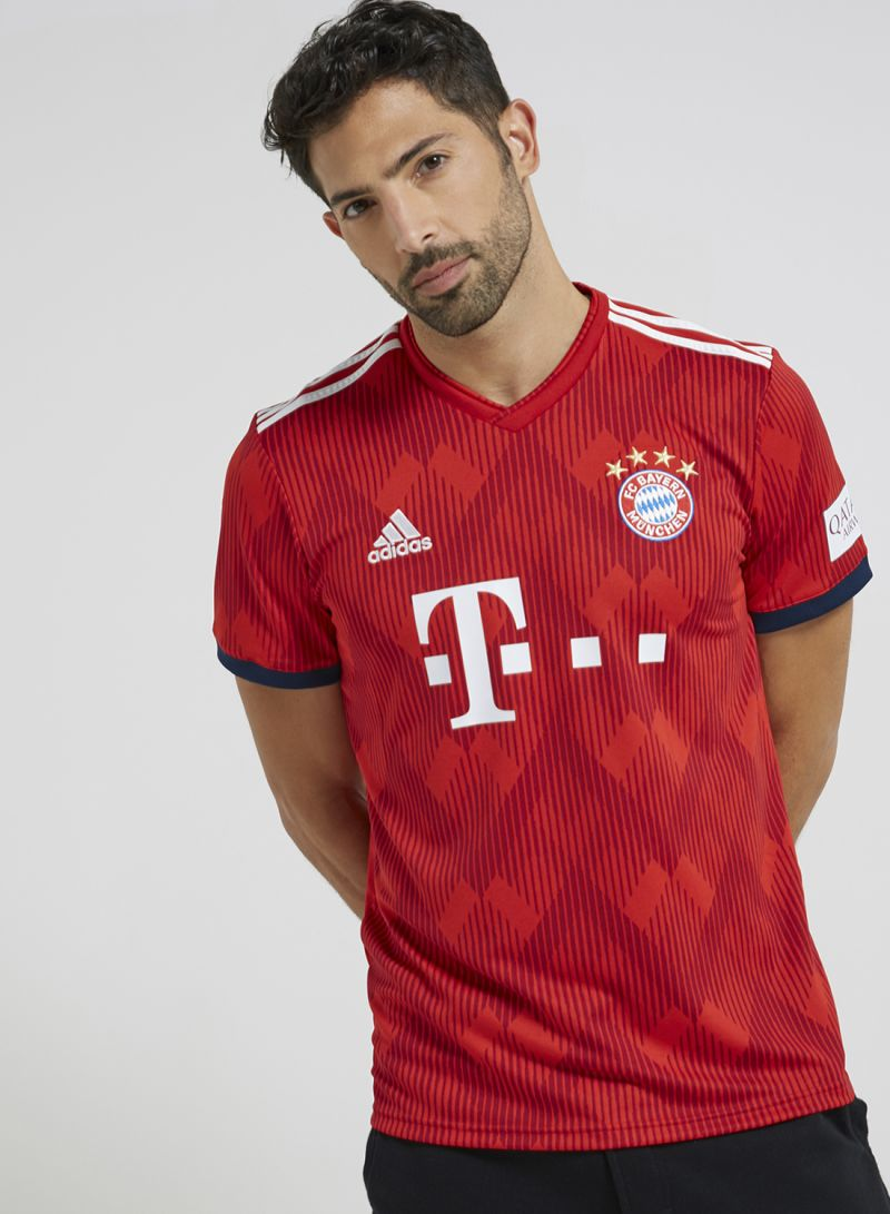 2205d2154 Shop adidas Fc Bayern Home Jersey Red White online in Dubai