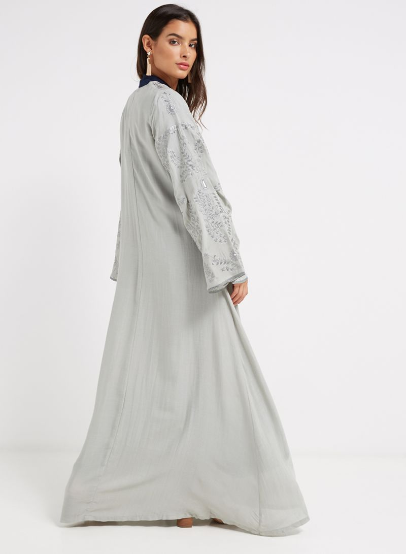 b739066caf37e Shop Debenhams Aab Collection Yamuma Kimono Grey online in Dubai ...