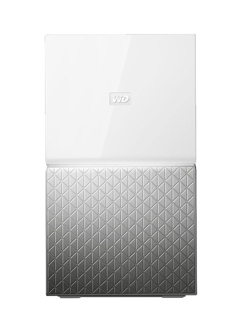 Shop Western Digital My Cloud Home Duo NAS Storage White/Silver 12 TB  online in Dubai, Abu Dhabi and all UAE
