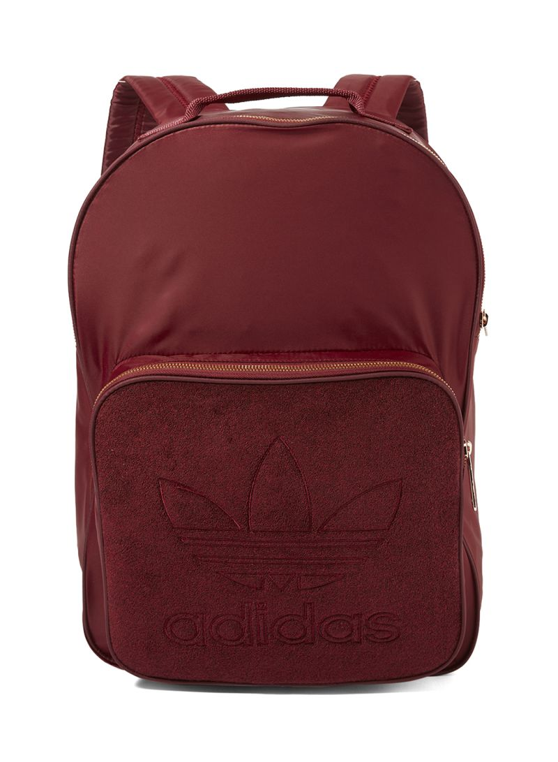 d23722e41f Shop adidas Classic Nylon Backpack With Adjustable Shoulder Straps ...