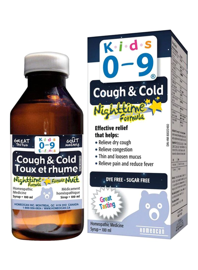Shop Homeocan Cough & Cold Nighttime Formula Homeopathic Medicine online in  Dubai, Abu Dhabi and all UAE