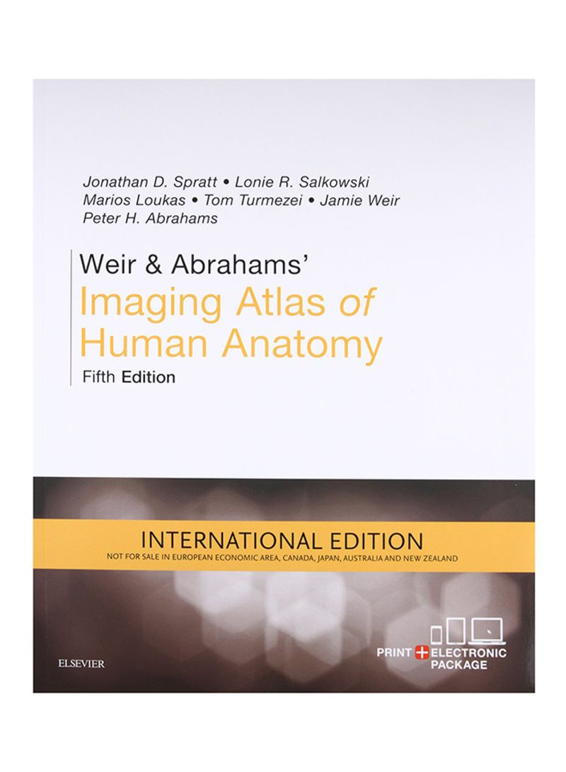 Shop Weir And Abrahams Imaging Atlas Of Human Anatomy 5 Paperback
