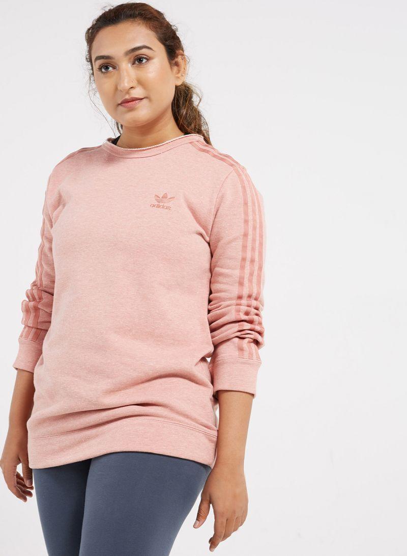 adidas Crew sweater raw pink
