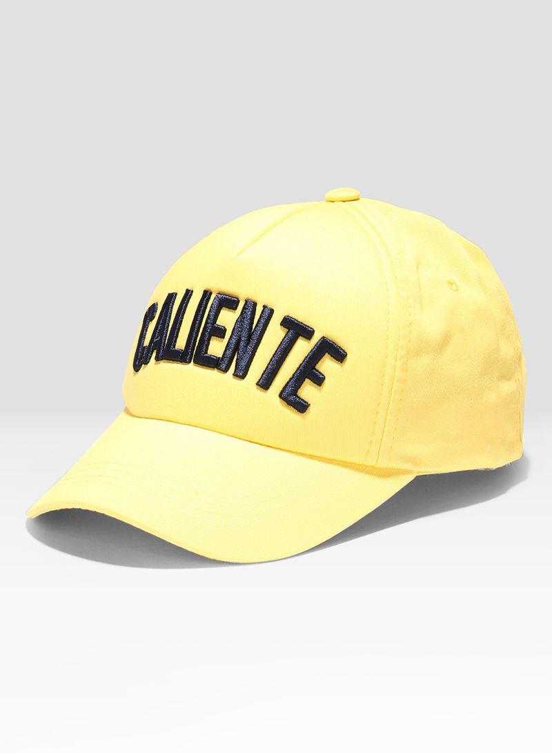 Shop Caliente Caliente Cap Yellow online in Dubai 4679a606fe55