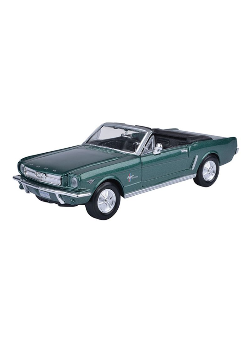 Shop Motormax 1964 1 2 Ford Mustang Convertible Model Car Online In