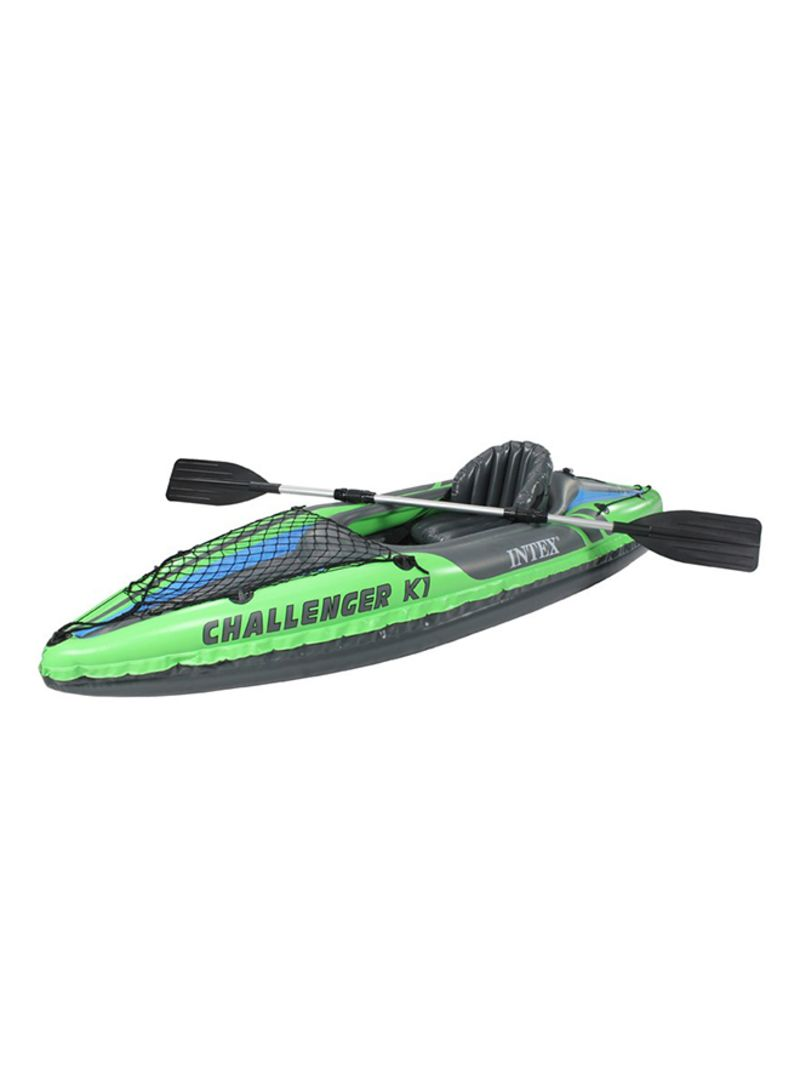 Inflatable Kayak And Paddle