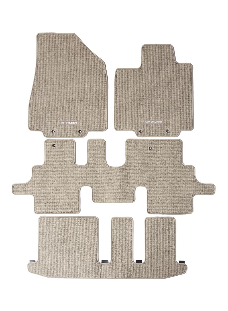 Shop Nissan 4-Piece Car Floor Mat For Nissan Pathfinder R52 online