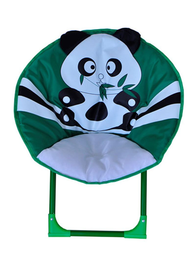 Fabulous Shop Chamdol Baby Panda Printed Moon Chair Green White Black Forskolin Free Trial Chair Design Images Forskolin Free Trialorg