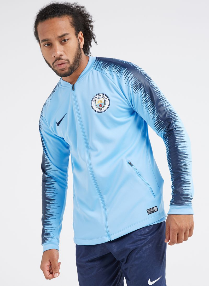 58e89c69d Shop Nike Manchester City FC Anthem Jacket Field Blue/Midnight Navy ...