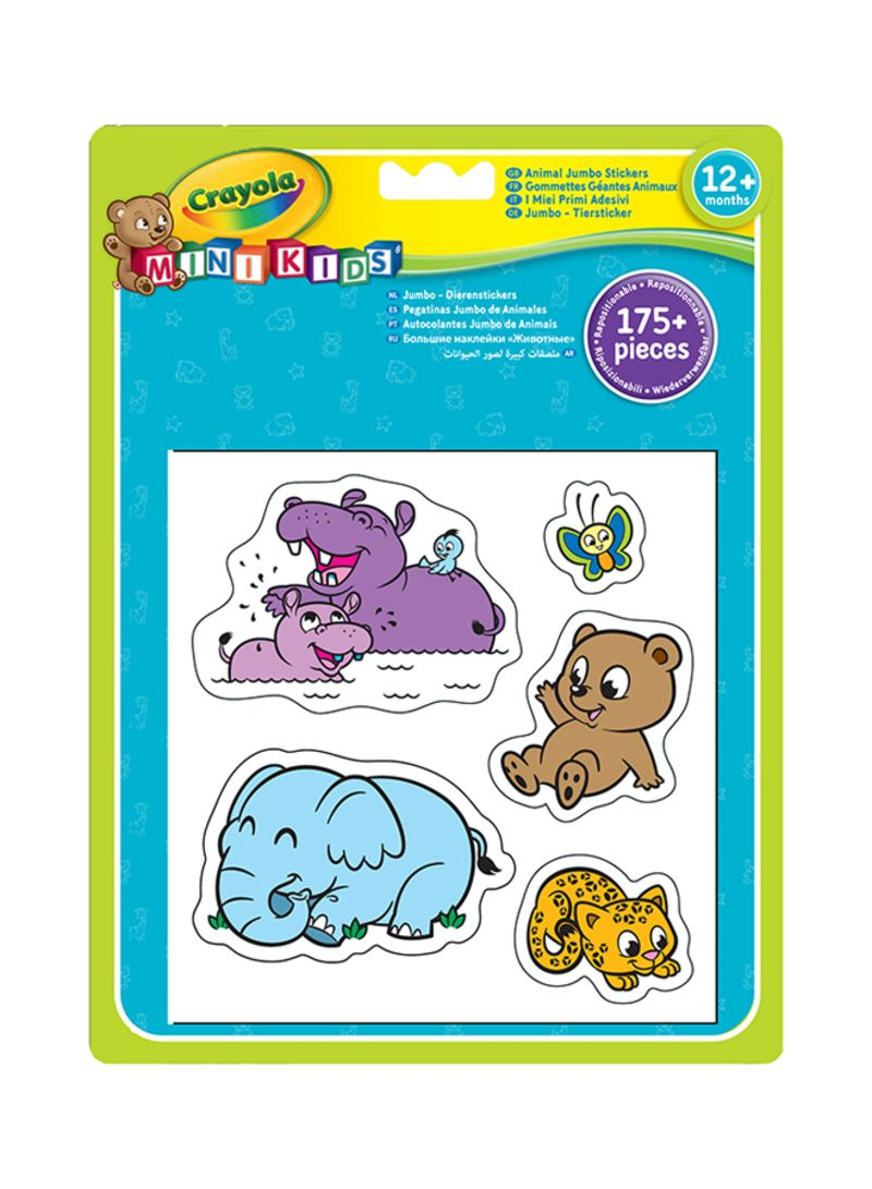 Shop Crayola Jumbo Animals Stickers online in Dubai, Abu Dhabi and all UAE