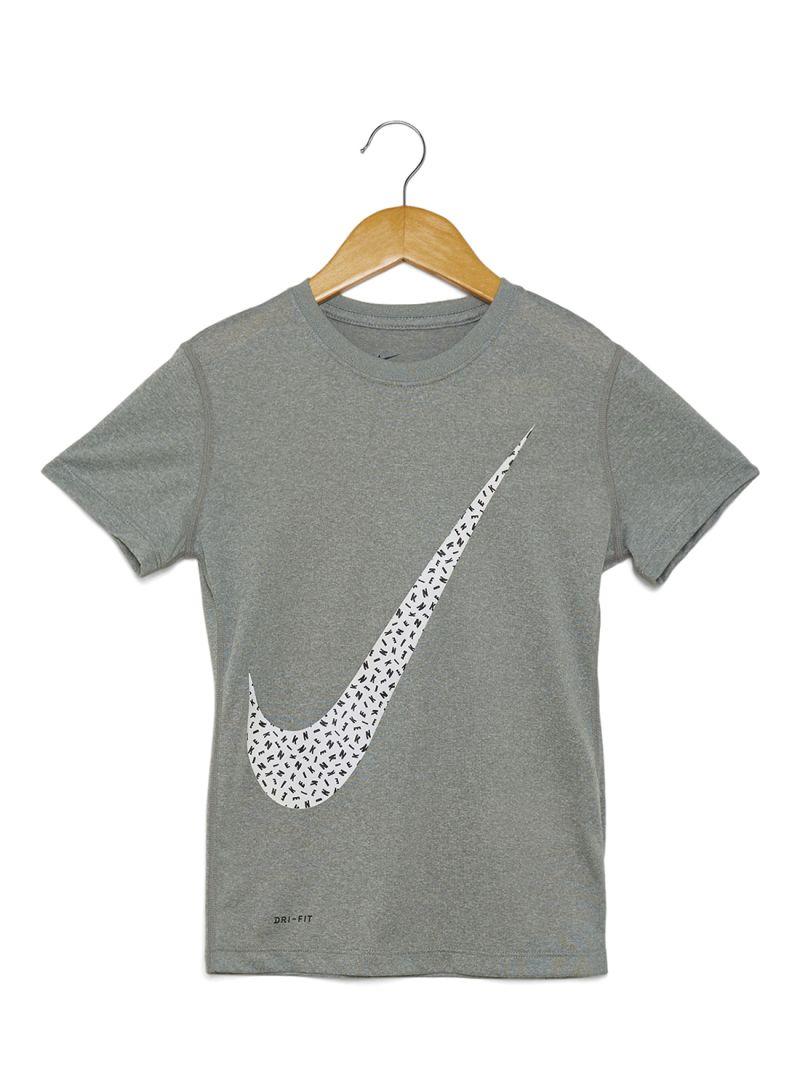 T Grey Byy6gf7 Spray Shop Shirt In Nike Dark Swoosh Online Printed Dubai lc1FKT3J