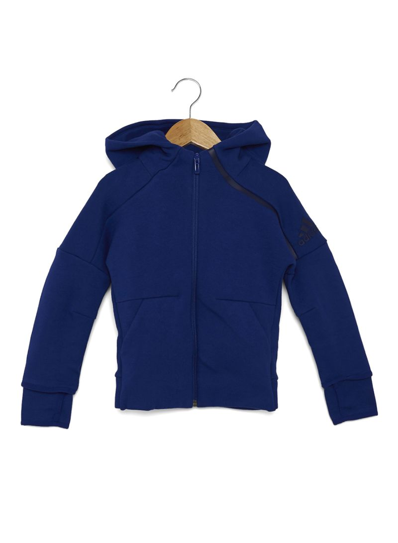 Buy Now Kids Z.N.E 2 Hoodie Blue with Fast Delivery and Easy Returns in Riyadh, Jeddah and all KSA