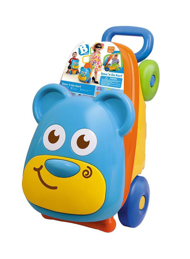 Shop B Kids Suitcase Bear Push Toy Online In Riyadh Jeddah And All Ksa