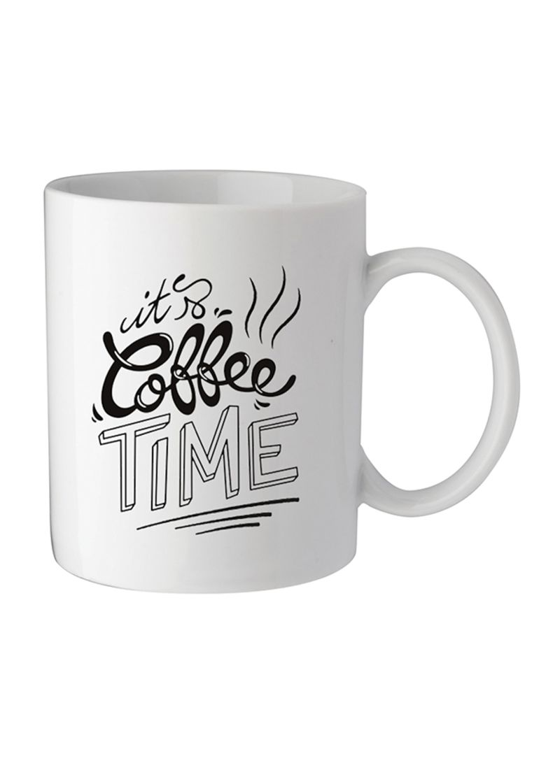 5be28a23af1 Shop giftex It's Coffee Time Printed Mug White/Black 11.5x10.5x10.5  centimeter online in Dubai, Abu Dhabi and all UAE