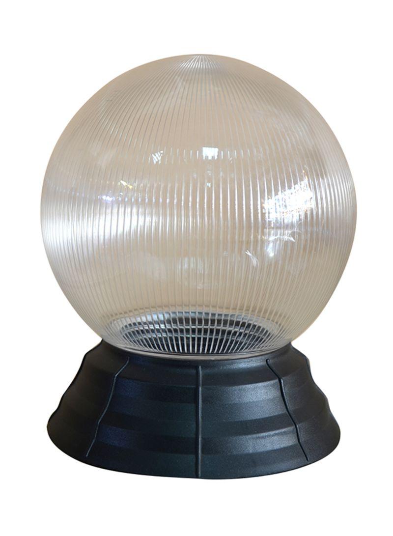 تسوق أضواء الصالحية وضوء خارجي برأس دائري شفاف مع قاعدة بوصلة بنهاية ملولبة  أسود / شفاف 200 X 200ملليمتر أونلاين في السعودية