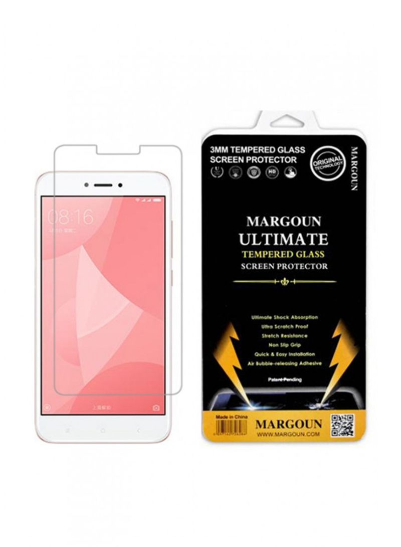 Shop Margoun Tempered Glass Screen Protector For Xiaomi Redmi 4x Full Cover Clear