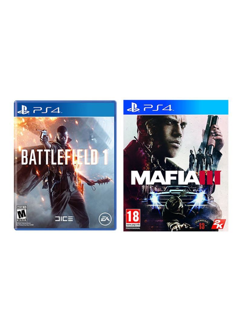 Shop Sony Battlefield 1 Mafia 3 Playstation 4 Ps4 Online In Ps4uncharted The Lost Legacy Reg Imagegalleryimg