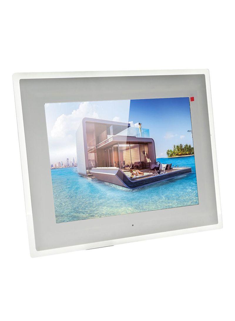 Shop Crony, Digital Photo Frame White/Clear 15 inch online in Riyadh ...