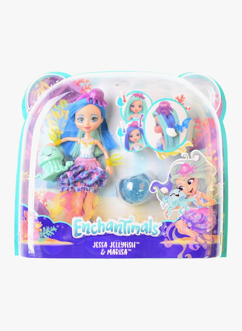 Enchantimals Jessa Jellyfish /& Marisa