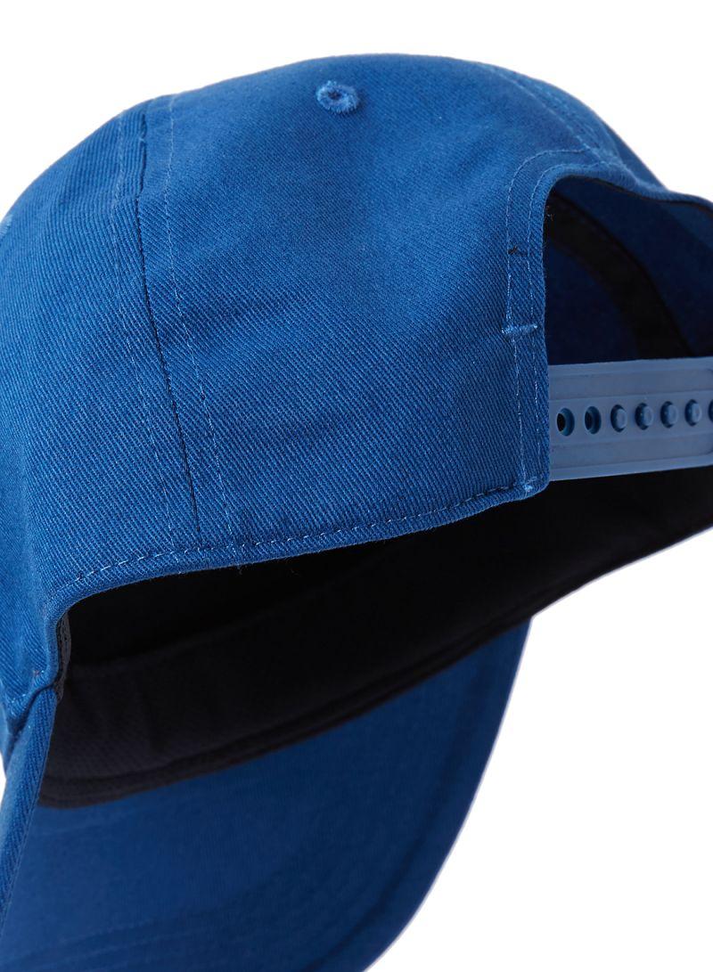 2e787cbff59 Shop Reebok Logo Cap Bunker Blue F18-R Fierce Gold online in Dubai ...
