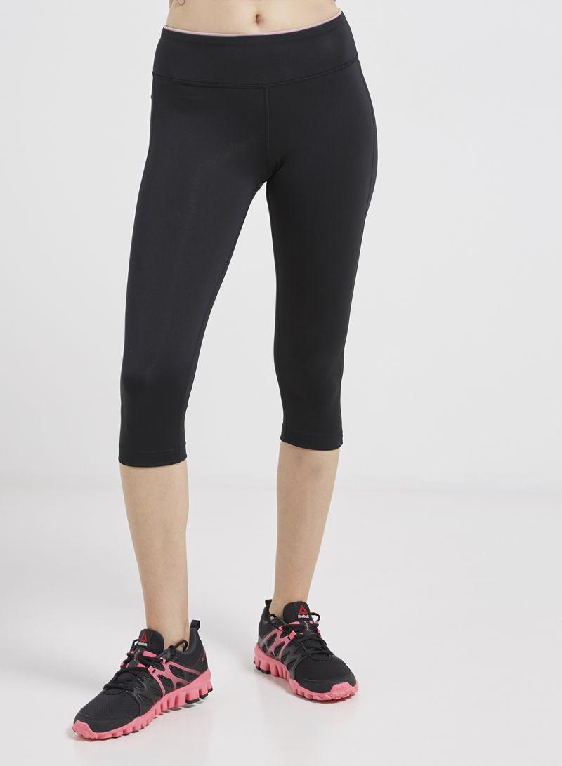 f1a12dae20cc7 Shop Reebok Workout Ready Capri Black online in Dubai, Abu Dhabi and ...
