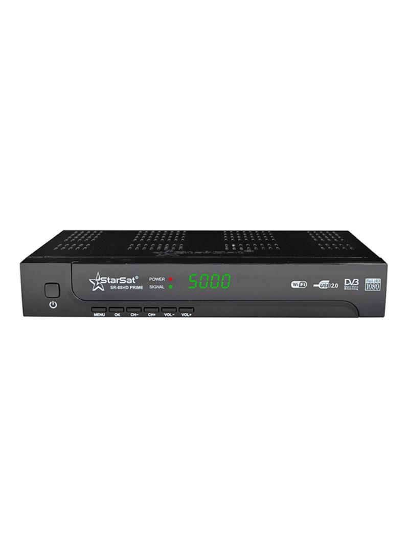 Shop StarSat Full HD Wi-Fi Satellite Receiver Black online