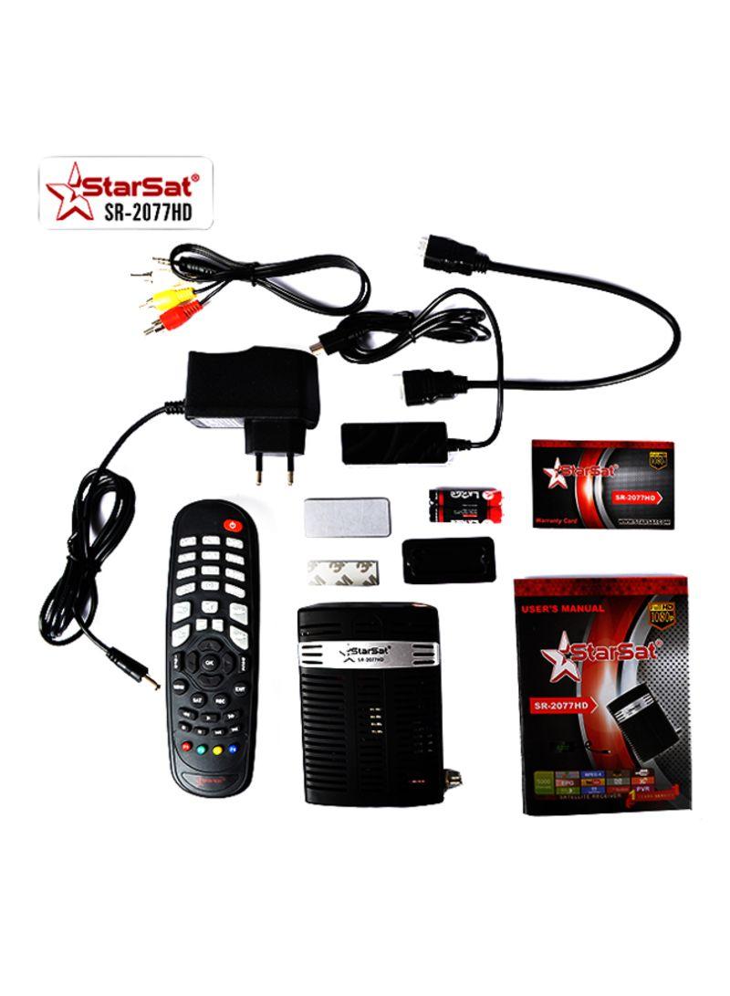 Shop StarSat Full HD Satellite Receiver Black online in