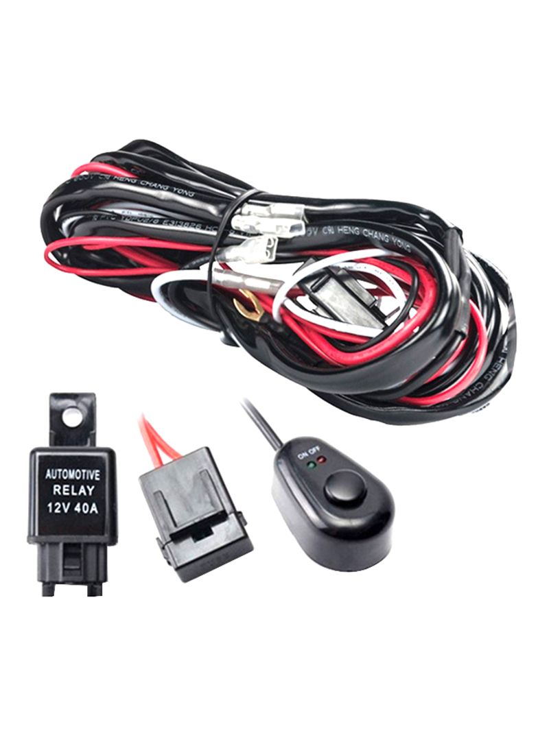 Shop OUTAD LED HID Wiring Harness Kit With 40A Switch online in Dubai, on