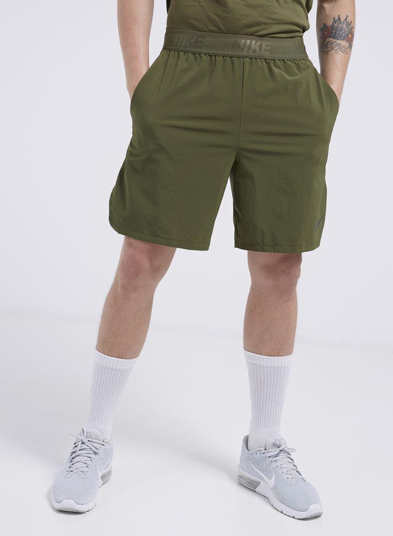 e1a91e0492e7b Shop Nike Flex Vent Max 2.0 Shorts Olive Canvas online in Riyadh ...