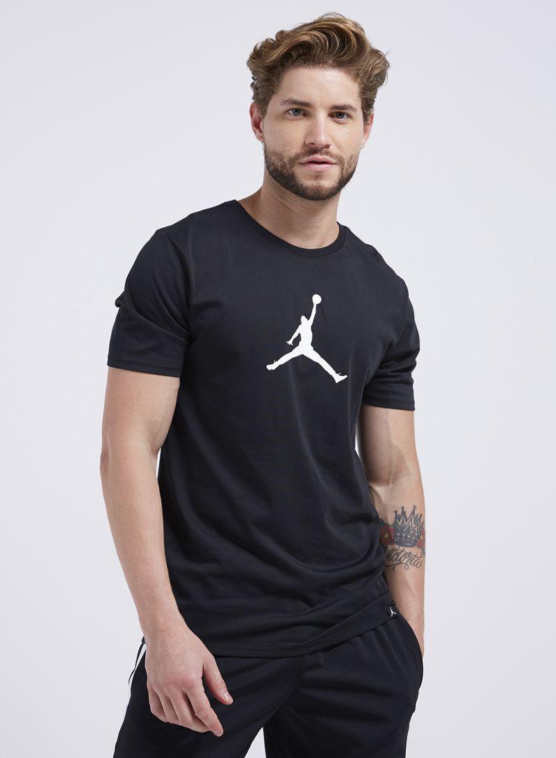 77d8ae9c9175cf Shop Nike Jordan Dri-FIT JMTC 23 7 Jumpman T-Shirt Black online in ...
