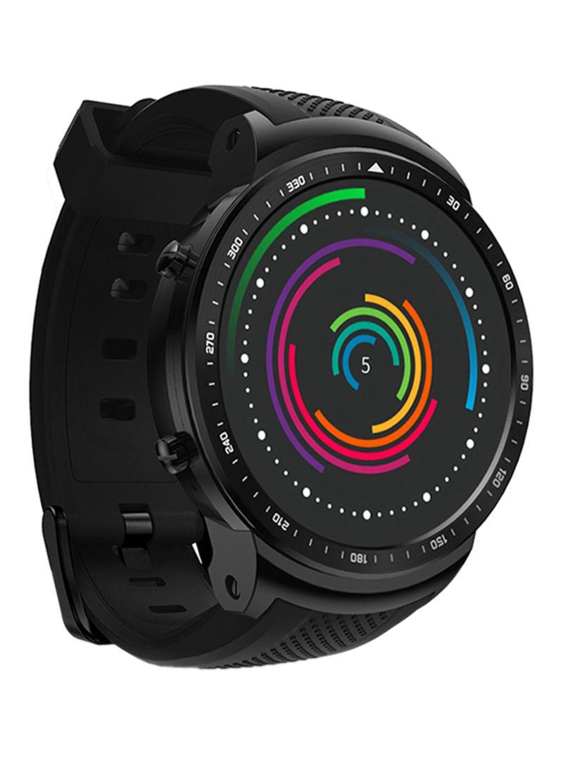 dd3998eb731 Shop Zeblaze Thor Pro Smartwatch 500 mAh Black online in Dubai