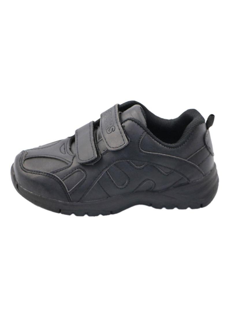 PU Leather Hook \u0026 Loop School Shoes