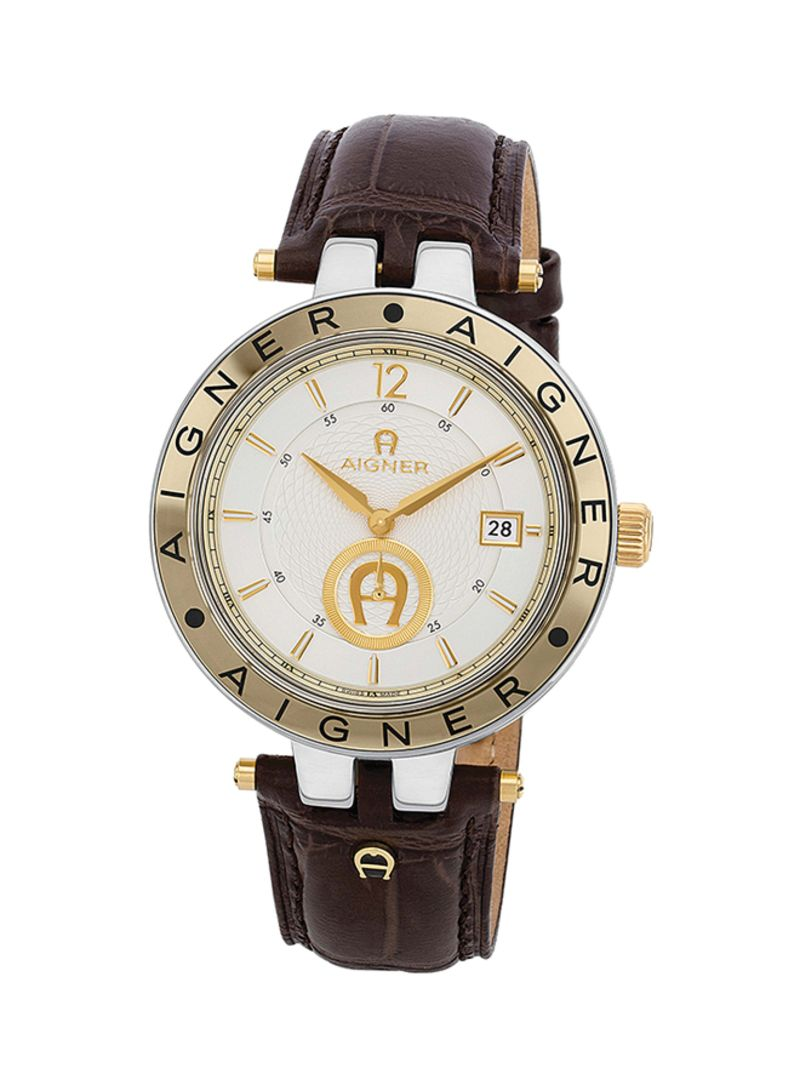 Shop Aigner Mens Leather Analog Watch A35143 Online In Dubai Abu For Women Imagegalleryimg