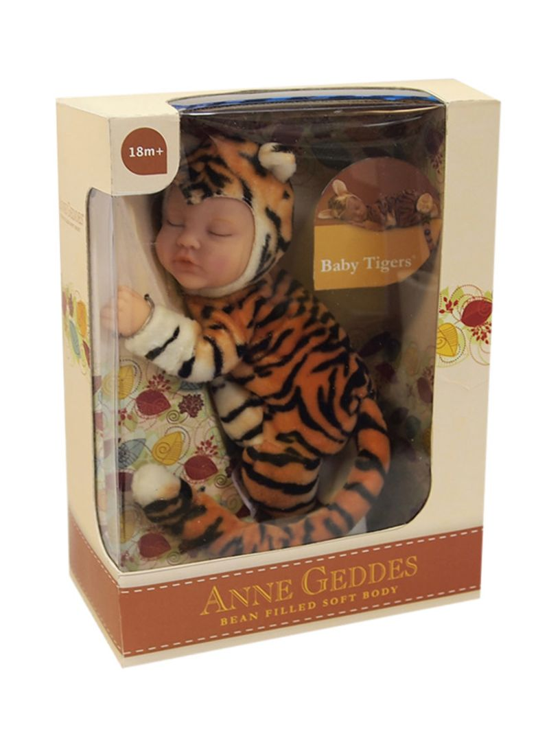Shop ANNE GEDDES Baby Tiger Doll 9-Inch online in Riyadh, Jeddah and all KSA