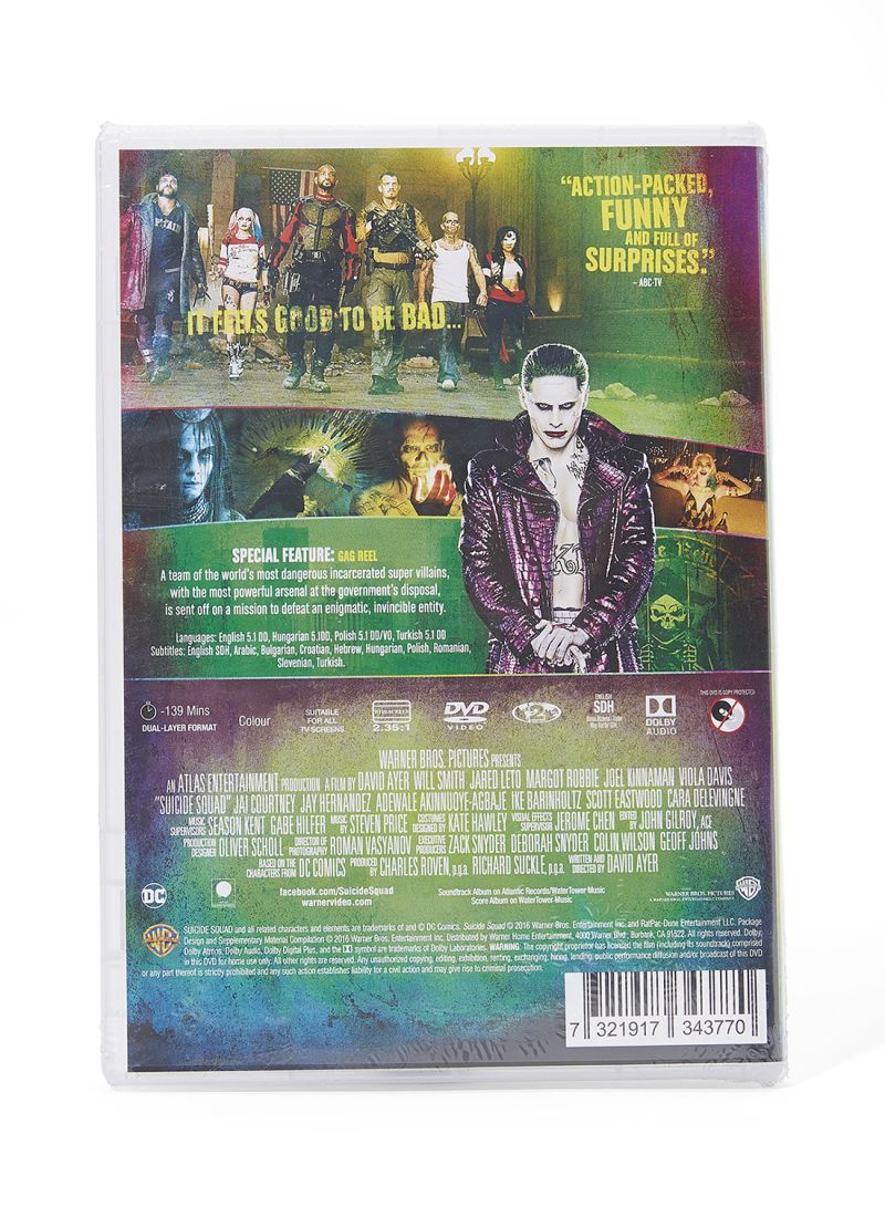 Shop Suicide Squad DVD online in Dubai, Abu Dhabi and all UAE