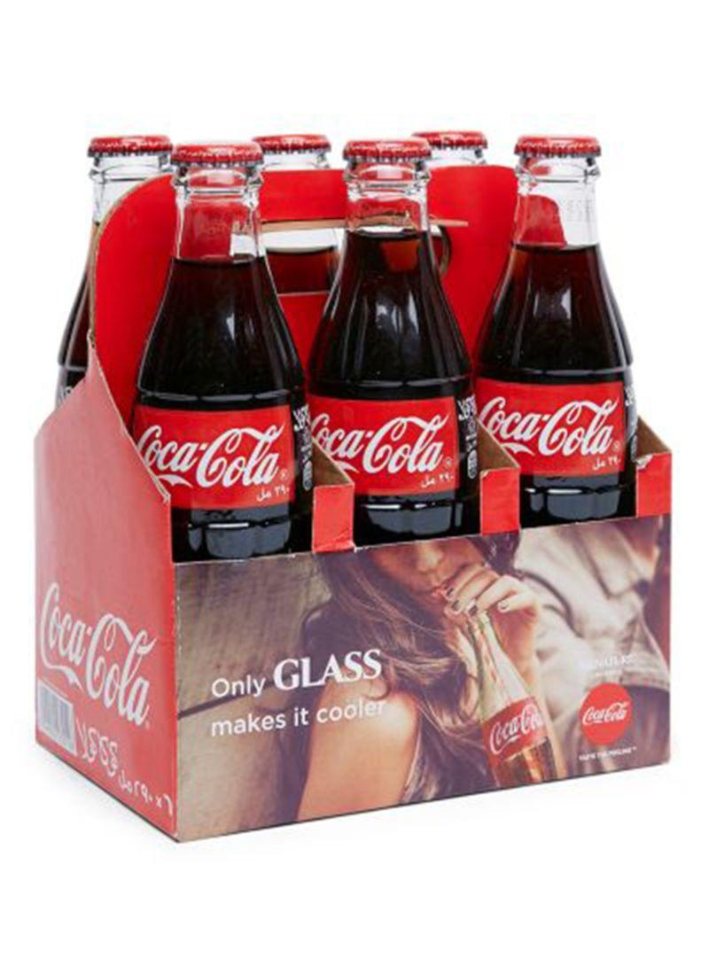 Shop Coca Cola Pack Of 6 Regular Glass Bottles 290 Ml Online In Dubai Abu Dhabi And All Uae