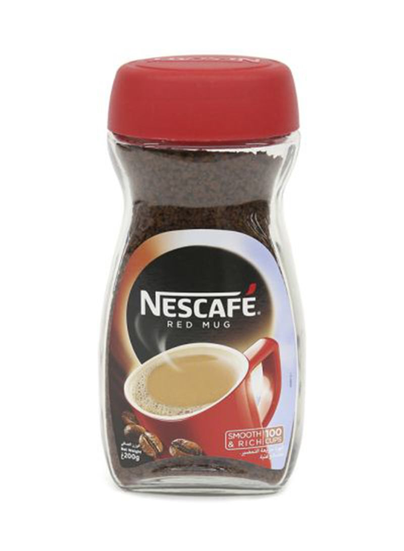 Dhabi 200 Red Nescafe Shop Instant In Coffee G DubaiAbu Online Mug fYg7yvb6