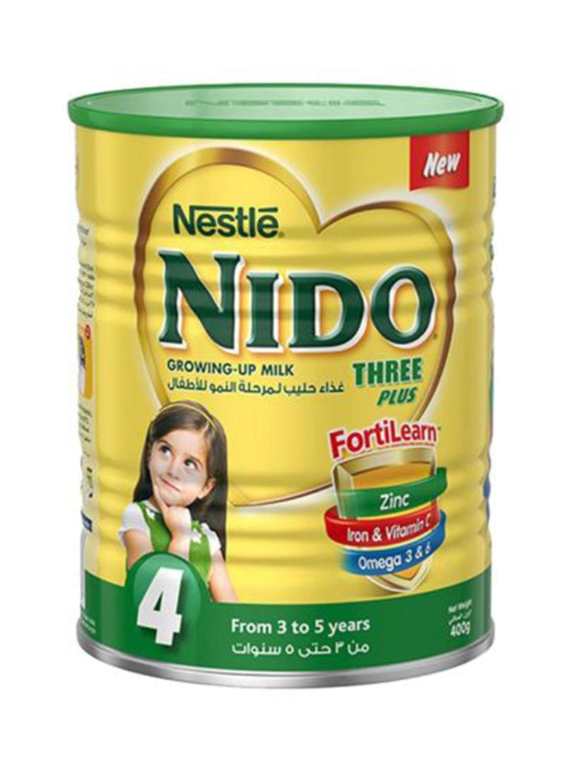 Shop Nestle Nido 3 + Stage 4 Growing Up Milk 1 8 kg online in Dubai