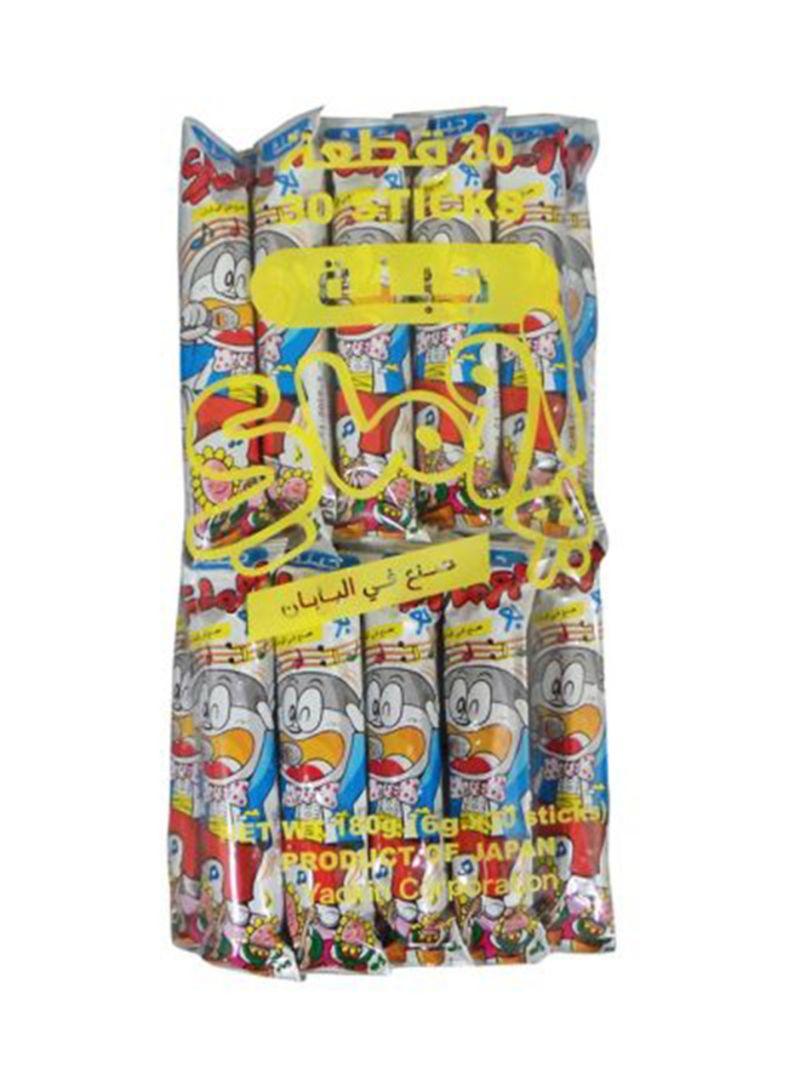 30 Sticks Cheese Snacks 180g Pack of 30