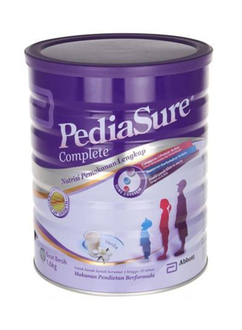 Shop Pediasure Vanilla Milk Powder 1 6 kg online in Dubai, Abu Dhabi and  all UAE
