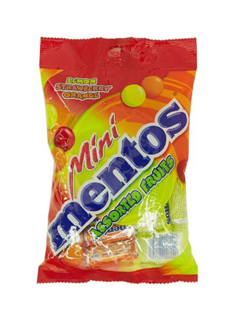 Assorted Fruits Flavored Chewy Candies 250g