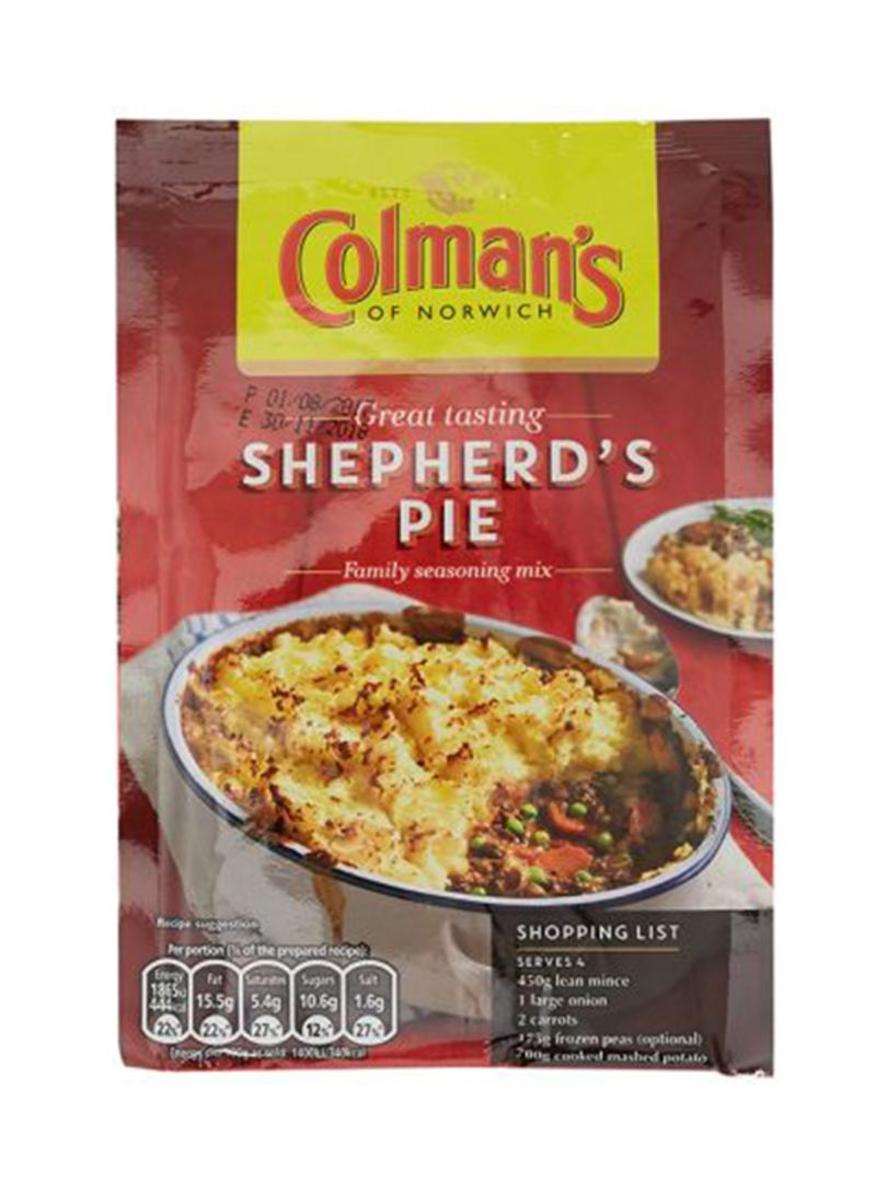 Shop Colman's Shepherd's Pie Seasoning Mix 50 g online in