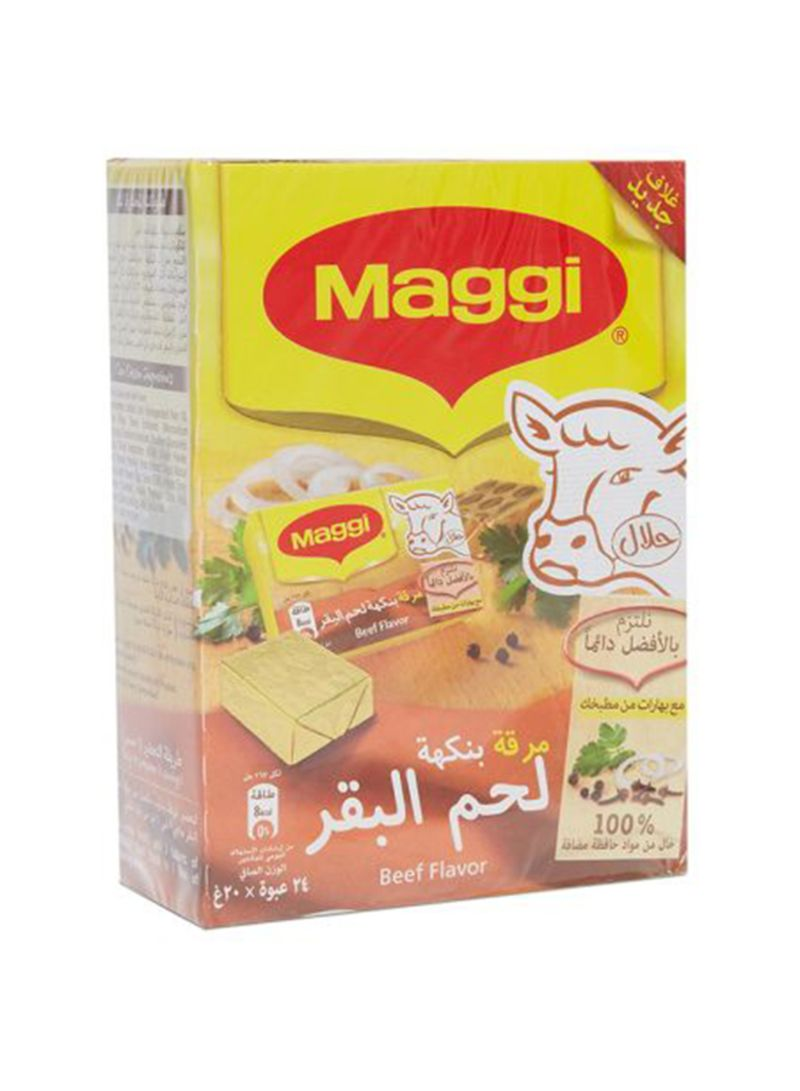 Shop Maggi Beef Bouillon Cubes 20 g Pack of 24 online in Dubai, Abu Dhabi  and all UAE