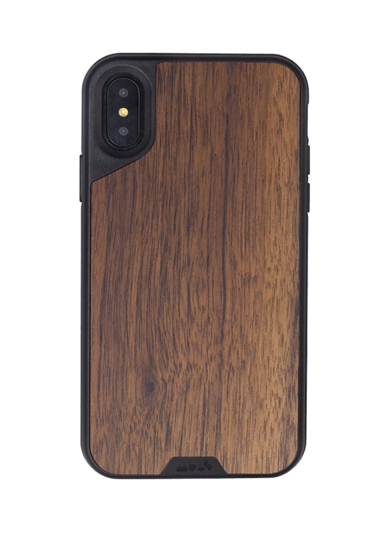 factory authentic 2b17a c9980 Shop Mous Limitless 2.0 Case Cover For Apple iPhone X Walnut online in  Riyadh, Jeddah and all KSA