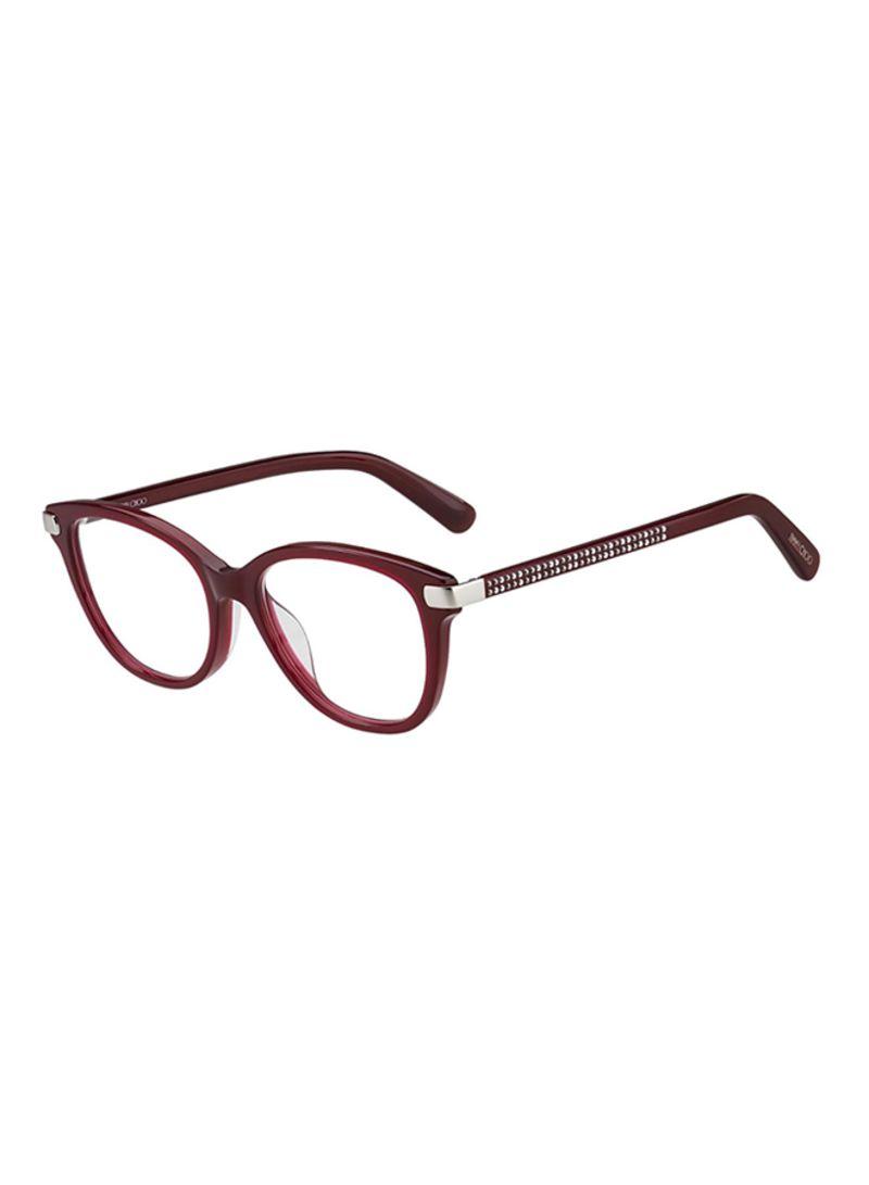f03086571 تسوق جيمي تشو وإطارات نظارات طبية مربعة طراز JC196-LHF-51 للنساء ...