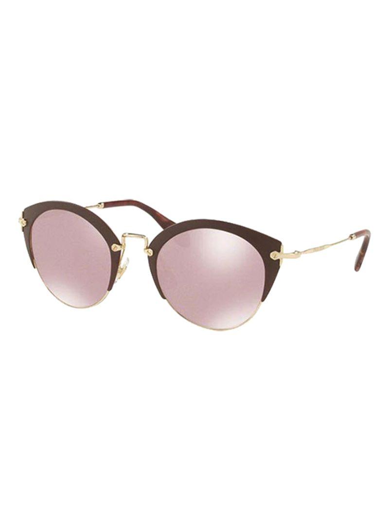 84cac19d011 Shop Miu Miu Women s Clubmaster Sunglasses MU53RS-TEP-100-52 online ...