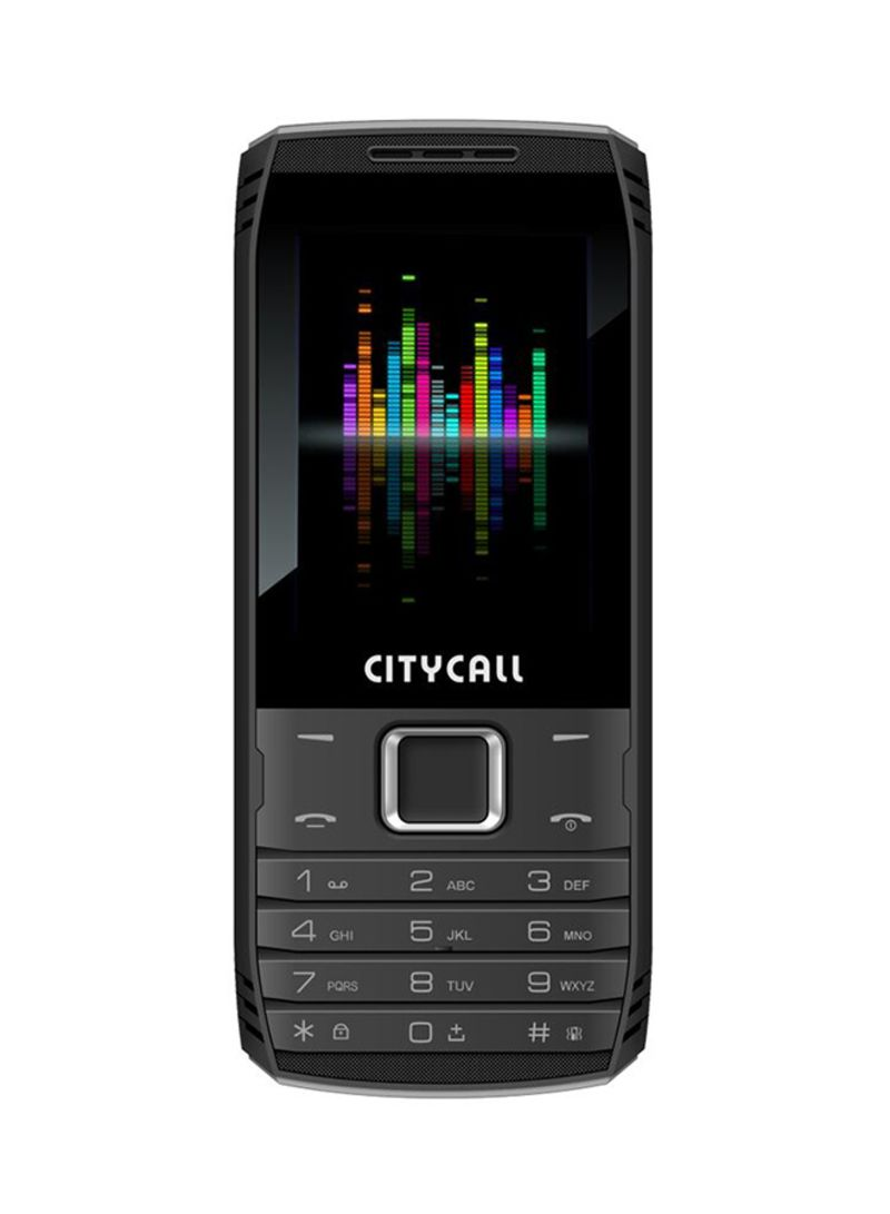 d3cc1b3c4ed Shop CITYCALL Run 8 Dual SIM Black 2G online in Riyadh